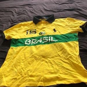 Brazil polo shirt for the cheap